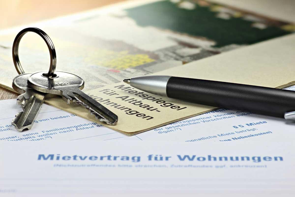 Bild zum Thema Mietvertrag und Mietrecht bzw. Eigentumsrecht auch für Vermieter